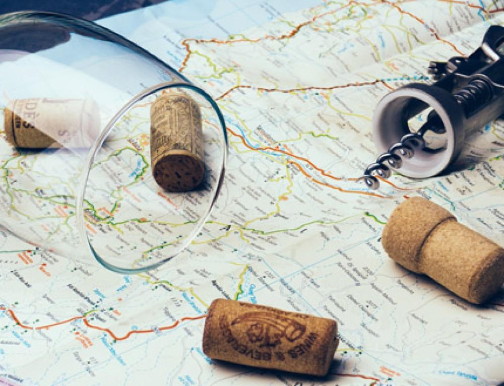 Rueda con el enoturismo y el ecoturismo familiar
